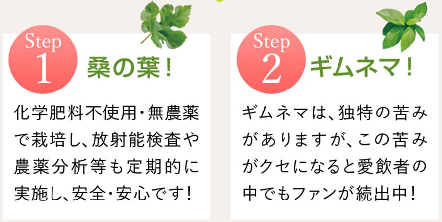 桑の葉ギムネマ